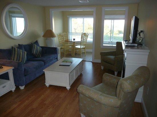 ذا بريكيرز ريزورت: Living room