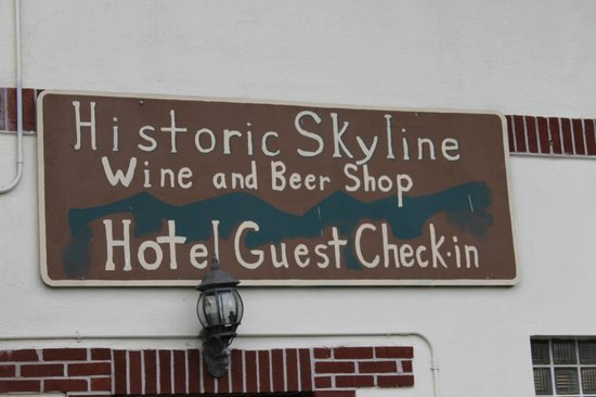 Skyline Village Inn : Skyline