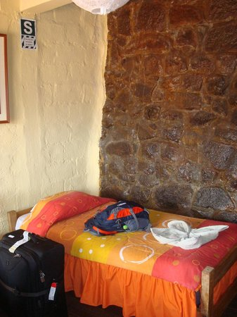 Samay Wasi Youth Hostels Cusco: Part of my room