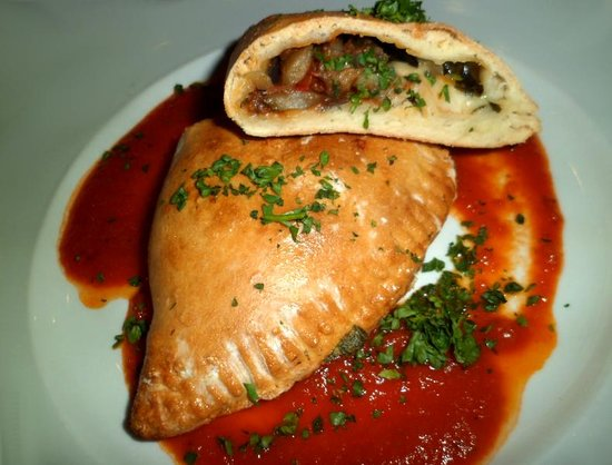 Petit Paris : Vegetable & mozarella calzone