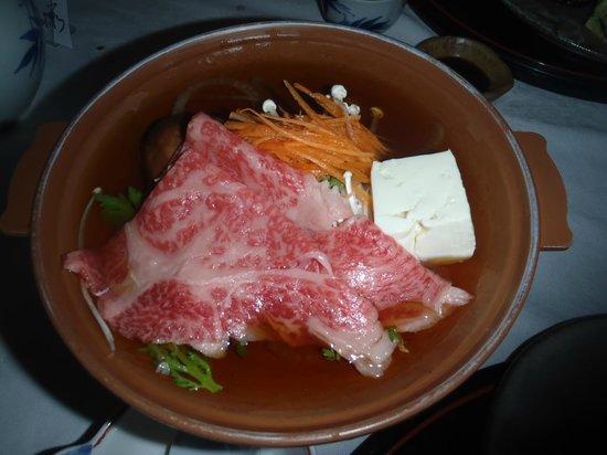 Uchiyu Asanoya: 飛騨牛