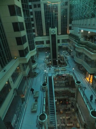 Novotel Melbourne on Collins: View from Room - overlooking Australia on Collins Shopping Cente