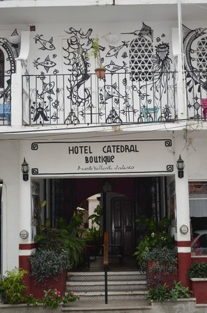 Catedral Vallarta Boutique Hotel: Entrance
