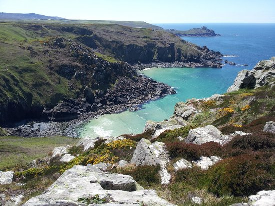 cliff walk from zennor to st ives