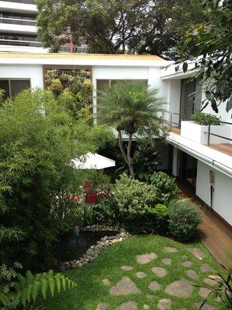 La Inmaculada Hotel: Garden area