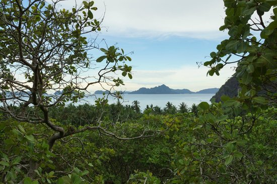 El Nido Overlooking: The view from the room