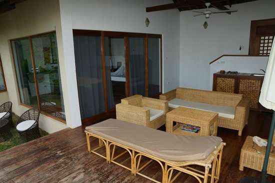 El Nido Overlooking: Your own terrace