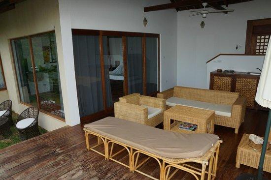 El Nido Overlooking: Your own terrace