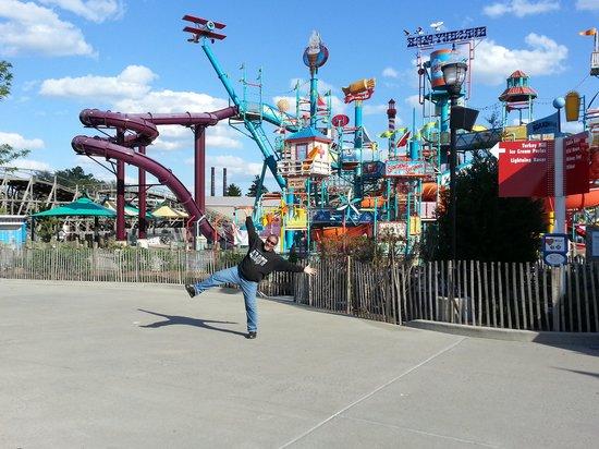 Hersheypark: Wheee!