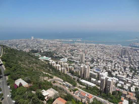 Dan Panorama Haifa : View from the room (19th floor)