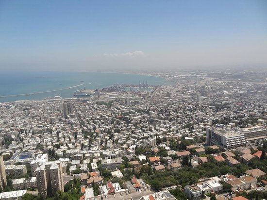 Dan Panorama Haifa: View from the room (19th floor)