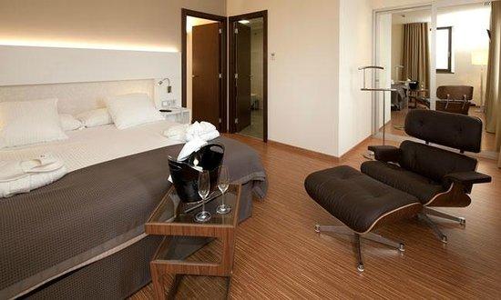 Hotel Via De La Plata Spa : habitacion impresionante