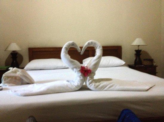 Kusnadi Hotel: Nice touch