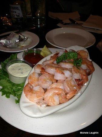 John A's Oyster Bar : Peel n Eat Shrimp
