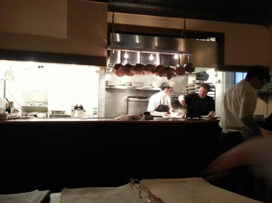 Back Bay Grill : The cook