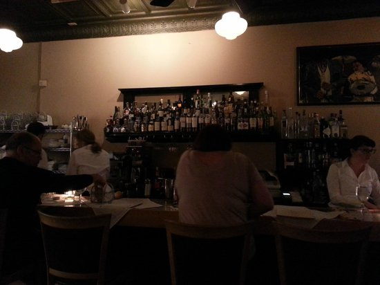 Back Bay Grill : The bar