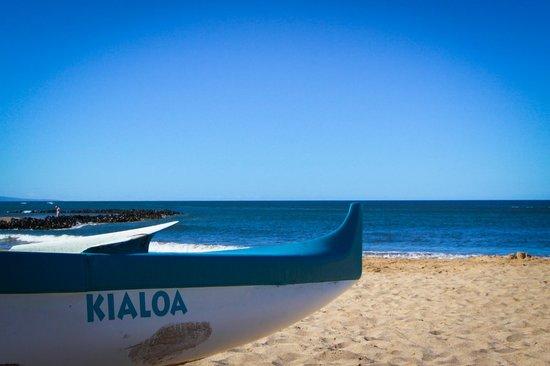Sunny Maui Condos: Beach just across the street - Kelapolepo