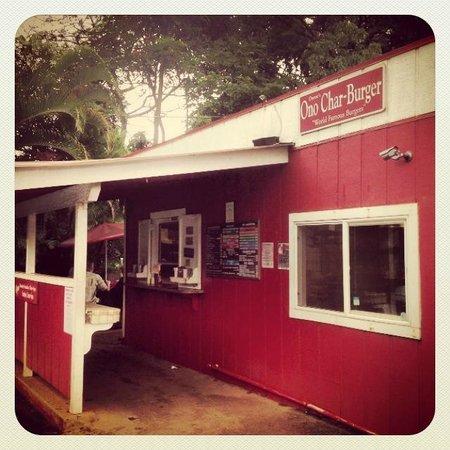 Duane's Ono Char-Burger: Exterior
