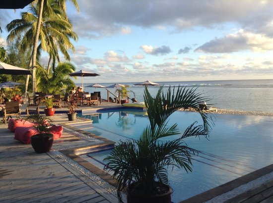 Manuia Beach Resort: Manuia pool & Beach