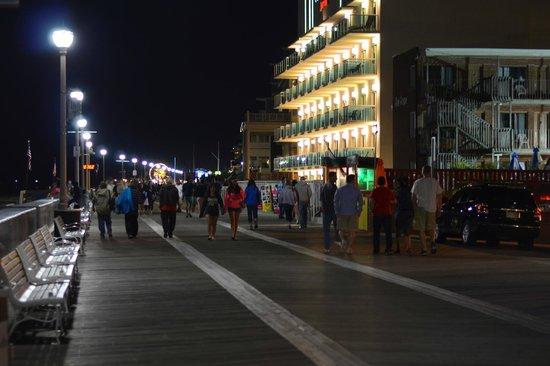 boardwalk at night foto di ocean city boardwalk  ocean city tripadvisor