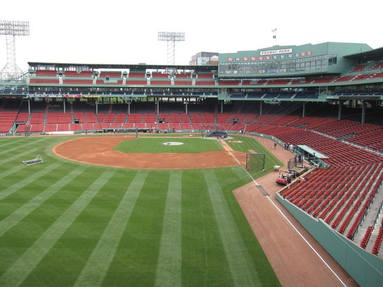 Vacation Village in the Berkshires: Fenway Park view from the Green Monster