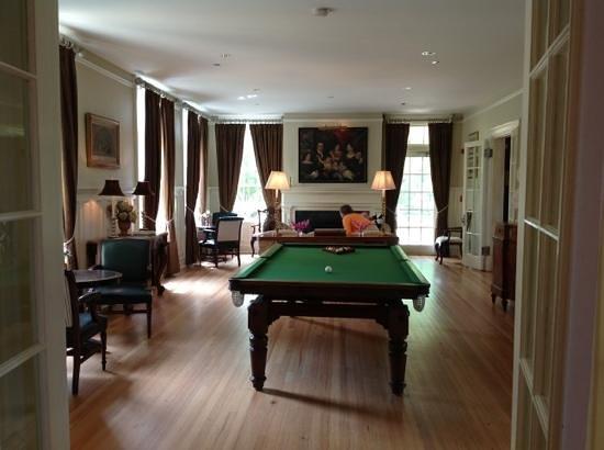 Keswick Hall: Billard at the villa crawford