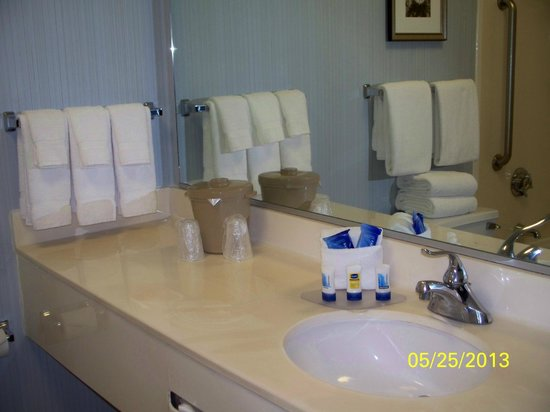 Fairfield Inn & Suites Chicago Downtown/Magnificent Mile: Nicely stocked bathroom