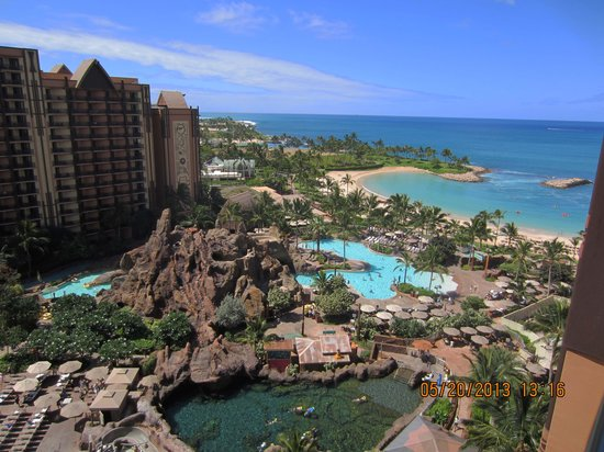 Aulani, a Disney Resort & Spa: Our view from 1208