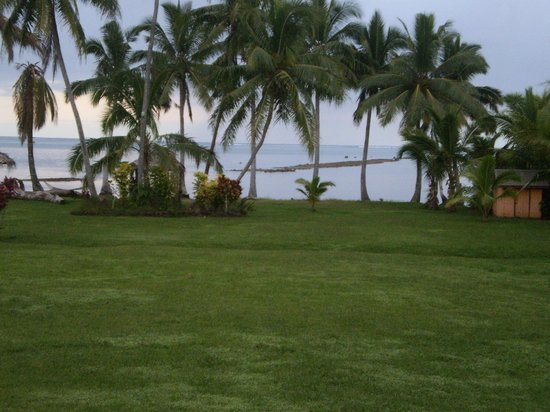 Waidroka Bay Resort: A view from my Bure