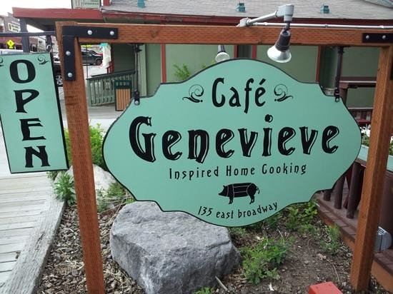 Cafe Genevieve Hours
