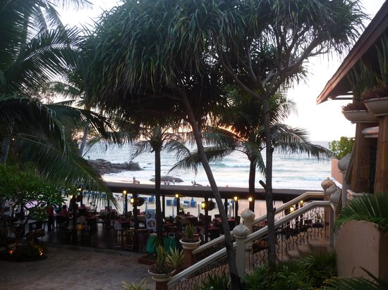 Beyond Resort Karon: View over beach restaurant/beach