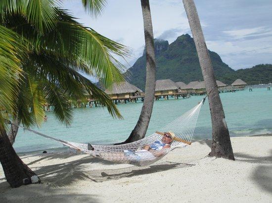 Bora Bora Pearl Beach Resort & Spa: Relaxing at the Pearl Beach Resort