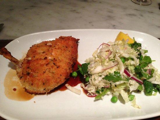 City Wine Shop: Signature Dish - Chicken Schnitzel & Coleslaw