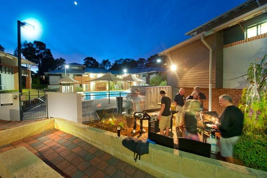 Darby Park Serviced Residences: The BBQ area