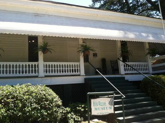 Hank Williams Boyhood Home and Museum : Hank Williams Sr Boyhood Home