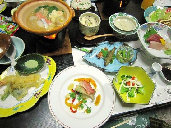 Rinkoukan: dinner