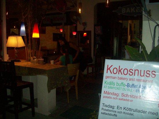 Kokosnuss restaurant