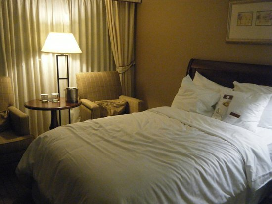 DoubleTree by Hilton Hotel Newark Airport: Bed