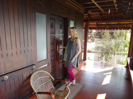 Kollenkeril Plantation Home-Stay Bungalow: just outside our room