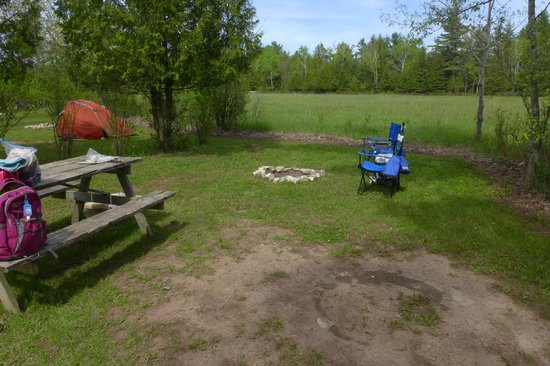 Fish Creek Campground : Camp Site 2