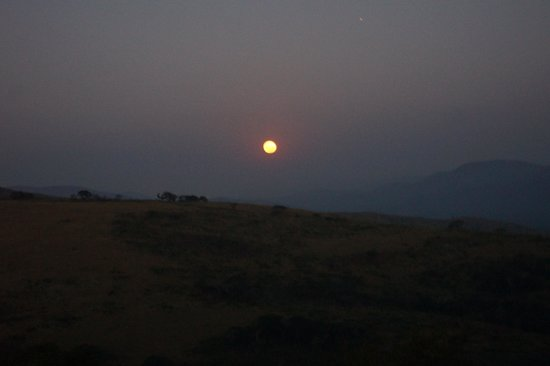 Heritage Tours & Safaris: Moonrise from deck