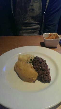 Stravaigin: Veggie haggis with neeps and tatties