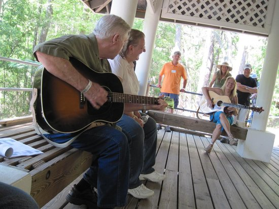 Stephen Foster Folk Culture Center State Park: Frank Thomas
