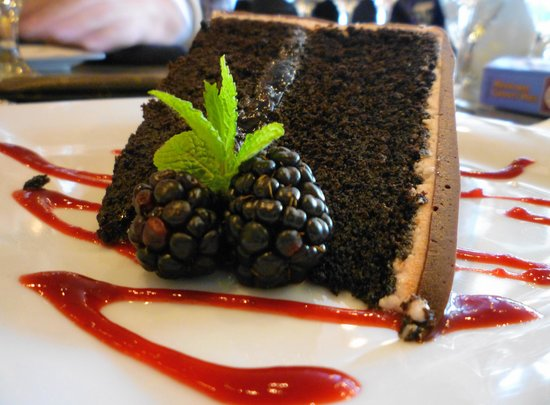 The Twisted Cork: Chocolate Zinfandel Torte
