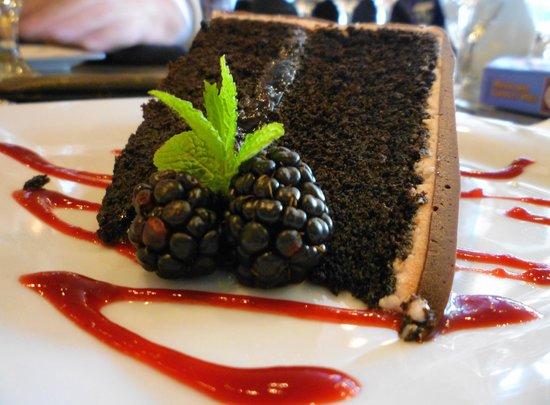 The Twisted Cork : Chocolate Zinfandel Torte