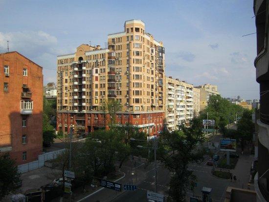 TiSO Apart-hotel: вид с балкона