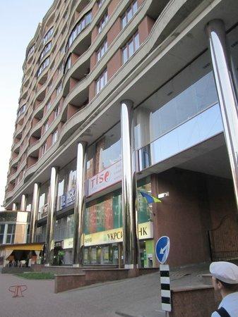 TiSO Apart-hotel: Здание, в котором находится отель