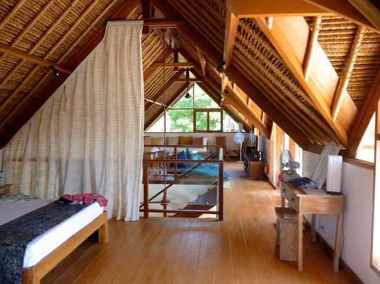 Villa Nusa: upstairs