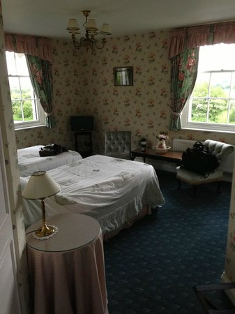 Rhydspence Inn: Room 7, no wide angle lens it is big