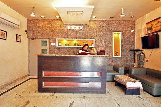 Raj Darbar Hotel: Reception area